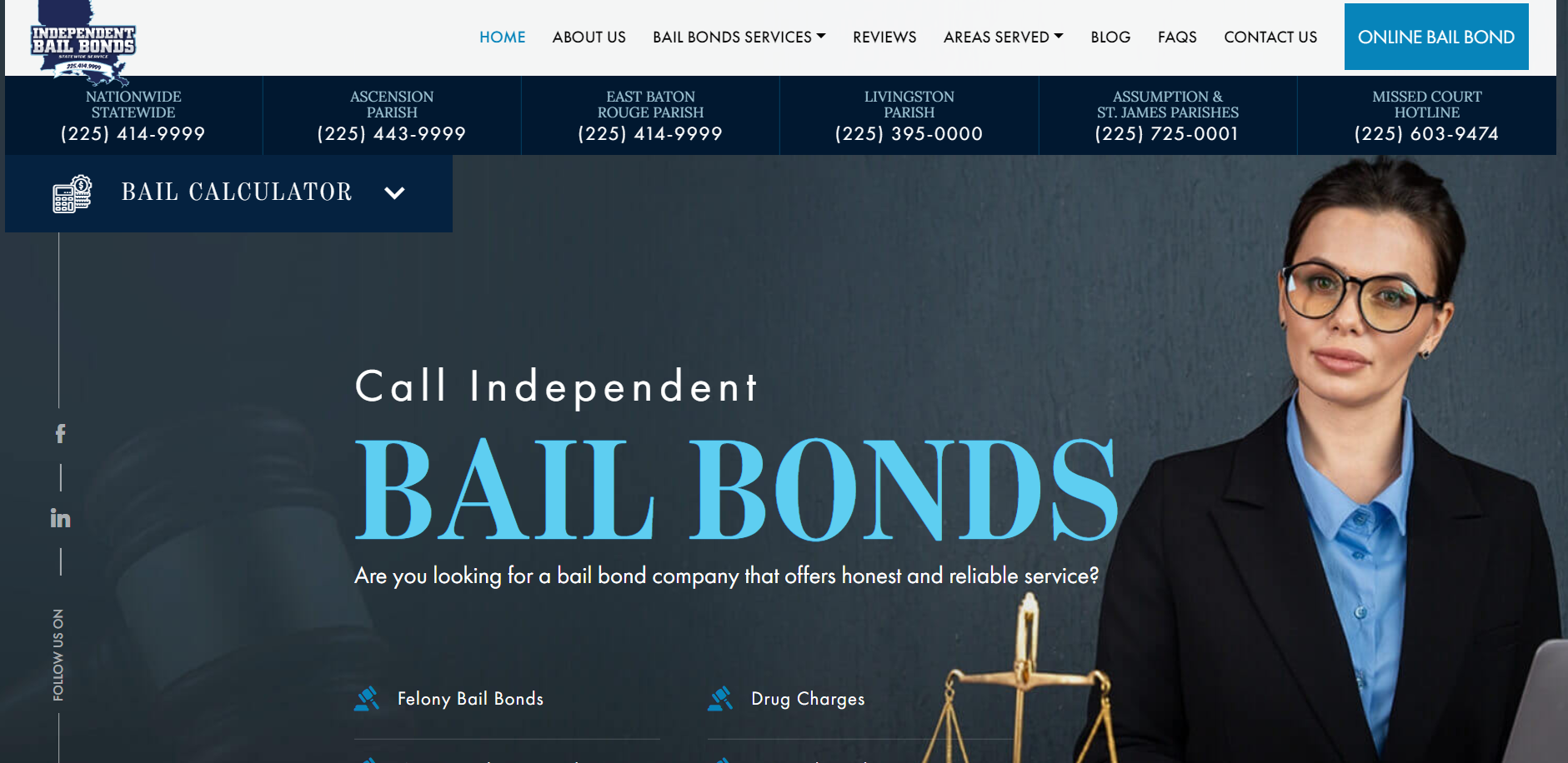 Baton Rouge Bail Bonds